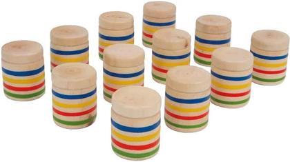 Hör-Memo - 12 Holzdosen