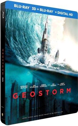 Geostorm (2017) (Limited Edition, Steelbook, Blu-ray 3D + Blu-ray)