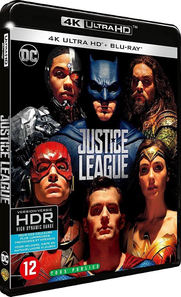 Justice League (2017) (4K Ultra HD + Blu-ray)