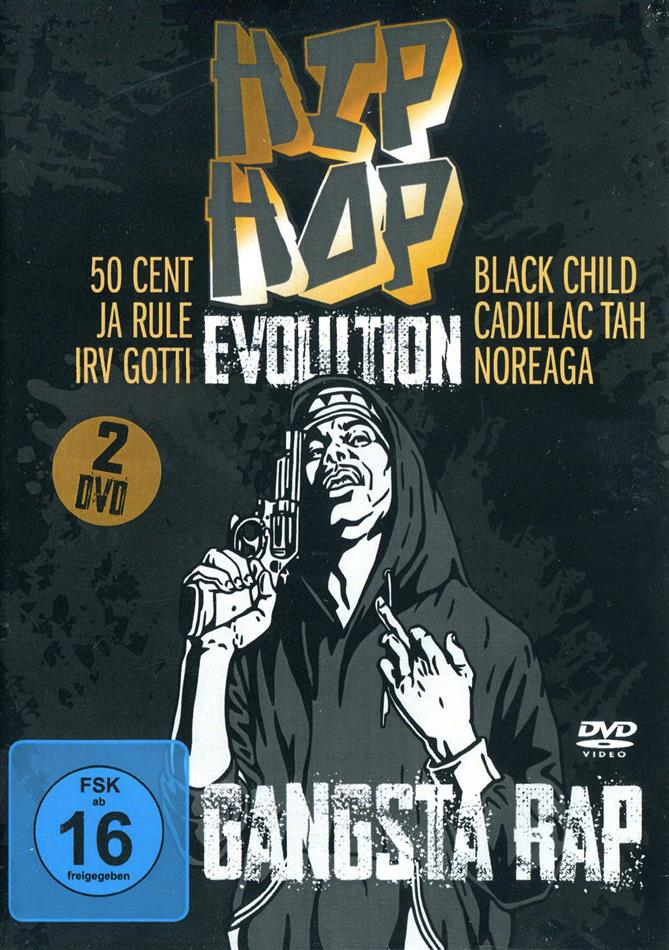 Various Artists - Hip Hop Evolution - Gangsta Rap (3 DVDs)