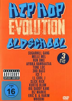 Various Artists - Hip Hop Evolution - Oldschool (3 DVDs)
