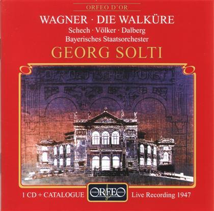Marianne Schech, Franz Volker, Friedrich Dahlberg, Richard Wagner (1813-1883), Sir Georg Solti, … - Die Walkure -Act 1- CD + Catalogue - Live 1947