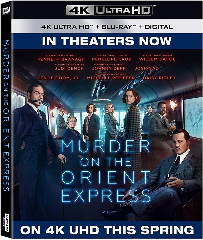 Murder On The Orient Express (2017) (4K Ultra HD + Blu-ray)