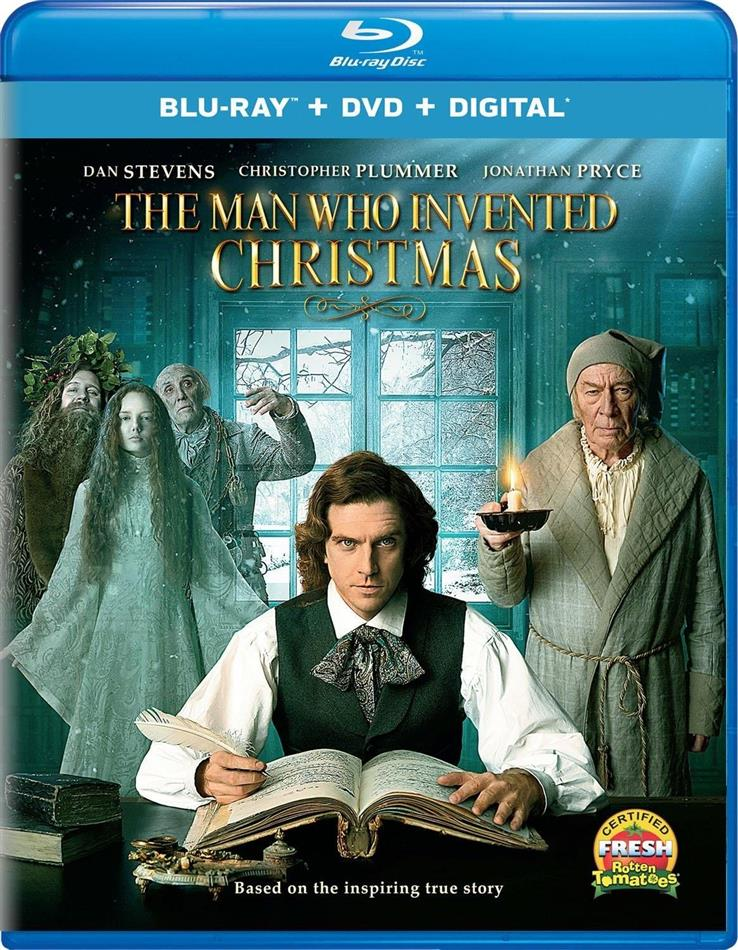 The Man Who Invented Christmas (Blu-ray + DVD)