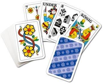 Jasskarten Mini - Edelweiss