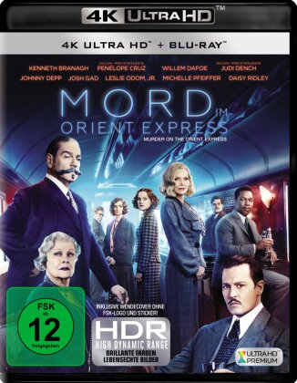 Mord im Orient Express (2017) (4K Ultra HD + Blu-ray)