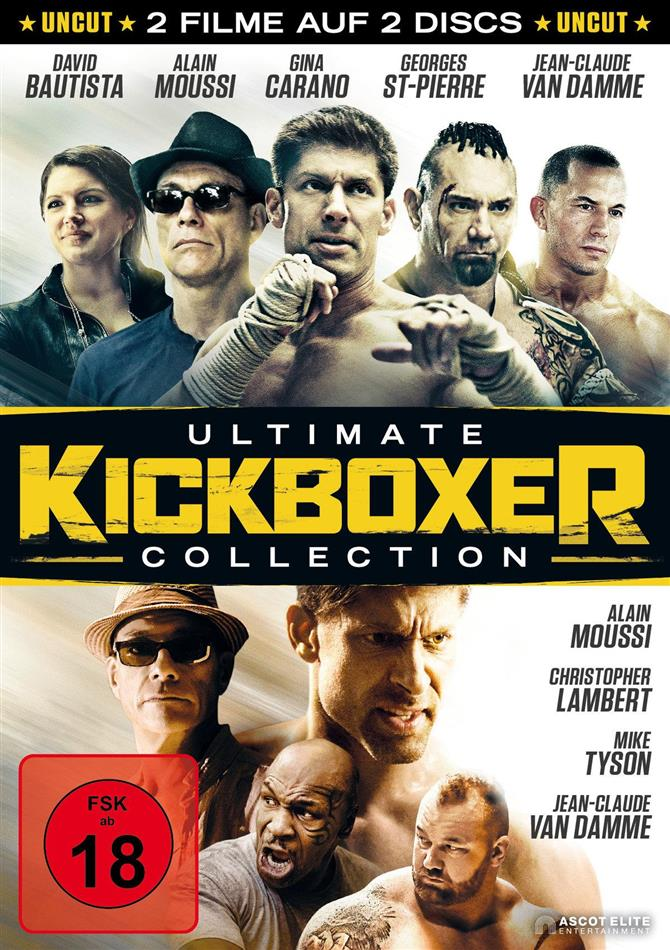 Kickboxer - Die Vergeltung / Die Abrechnung (Ultimate Collection, Uncut, 2 DVD)