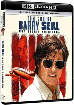 Barry Seal - Una storia americana (2017) (4K Ultra HD + Blu-ray)