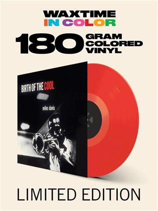 Miles Davis - Birth Of The Cool (Waxtime, Transparent Red Vinyl, LP)