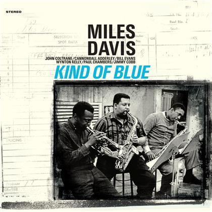 Miles Davis - Kind Of Blue (Waxtime, Solid BlueVinyl, LP)