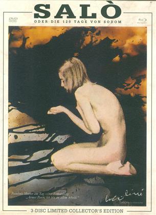 Salò oder die 120 Tage von Sodom (1975) (Cover D, Collector's Edition, Limited Edition, Restaurierte Fassung, Uncut, Blu-ray + 2 DVDs)
