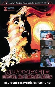Autopsie - Hospital der lebenden Leichen (1975) (Grosse Hartbox, The X-Rated Italo-Giallo-Series, Cover A, Uncut)