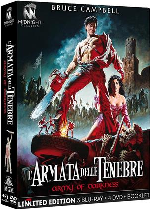 L'armata delle tenebre (1992) (International Version, 4K Mastered, Director's Cut, Versione Cinema, Edizione Limitata, 3 Blu-ray + 4 DVD)