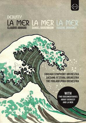 Claudio Abbado, Daniel Barenboim, … - Debussy - La Mer - 3 Legendary Performances (Euro Arts, 2 DVDs)
