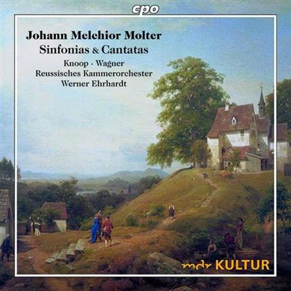Johann Melchior Molter (1696-1765), Werner Ehrhardt, Julia Sophie Wagner, Andreas Knoop & Reussisches Kammerorchester - Sinfonias & Arias