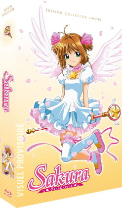 Sakura - CardCaptor - Intégrale (1998) (Collector's Edition, Limited Edition, 6 Blu-rays + CD)