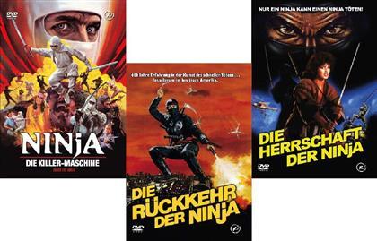 Ninja 1 - 3 - Bundle (Kleine Hartbox, Limited Edition, Uncut, 3 DVDs)
