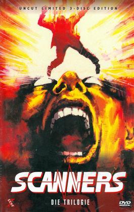 Scanners 1-3 - Die Trilogie (Grosse Hartbox, Limited Edition, Uncut, 3 DVDs)