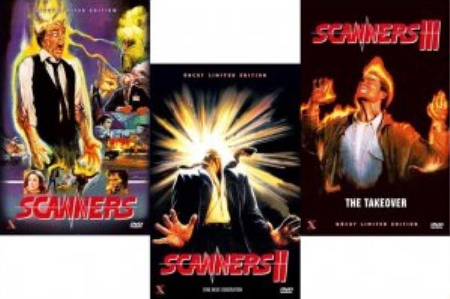 Scanners 1-3 - Bundle (Grosse Hartbox, Limited Edition, Uncut, 3 DVDs)