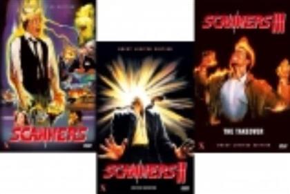 Scanners 1-3 - Bundle (Kleine Hartbox, Limited Edition, Uncut, 3 DVDs)