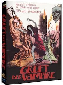 Gruft der Vampire (1970) (Hammer Edition, Cover B, Mediabook, Uncut, Blu-ray + DVD)