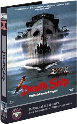 Death Ship (1980) (Kleine Hartbox, Cover H, Limited Edition, Uncut, Blu-ray + DVD)