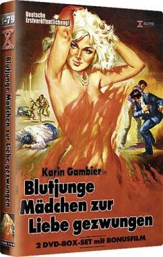 Blutjunge Mädchen zur Liebe gezwungen (1976) (Cover B, Grosse Hartbox, Limited Edition, Uncut, 2 DVDs)