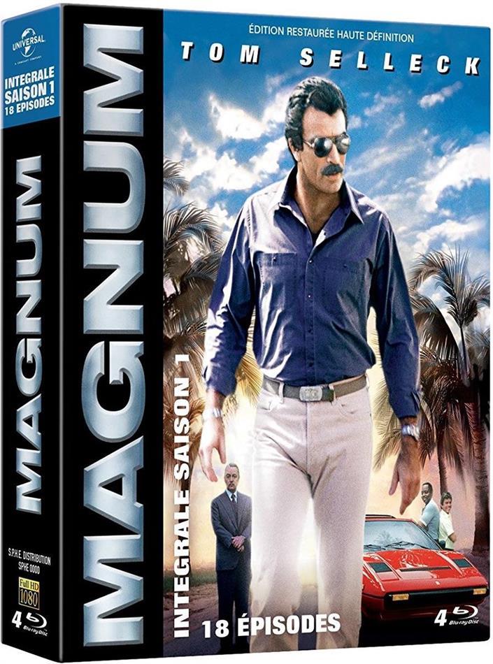 Magnum - Saison 1 (Restaurierte Fassung, 4 Blu-rays)
