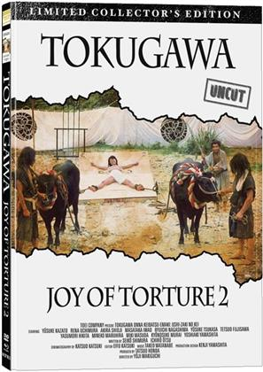 Tokugawa - Joy of Torture 2 (1976) (Cover B, Collector's Edition, Limited Edition, Mediabook, Uncut, Blu-ray + DVD)