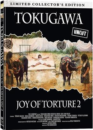 Tokugawa - Joy of Torture 2 (1976) (Cover A, Limited Collector's Edition, Mediabook, Remastered, Uncut, Blu-ray + DVD)