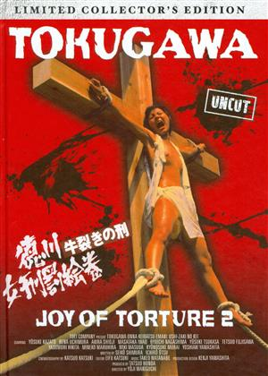 Tokugawa - Joy of Torture 2 (1976) (Cover C, Collector's Edition, Limited Edition, Mediabook, Uncut, Blu-ray + DVD)