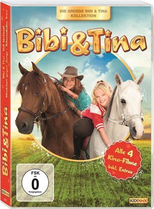 Bibi und Tina - Alle 4 Kino-Filme (4 DVDs)