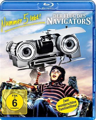 Nummer 5 lebt! / Der Flug des Navigators (2 Blu-rays)