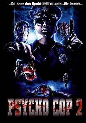 Psycho Cop 2 (1993) (Cover B, Limited Edition, Mediabook, Uncut, Blu-ray + DVD)