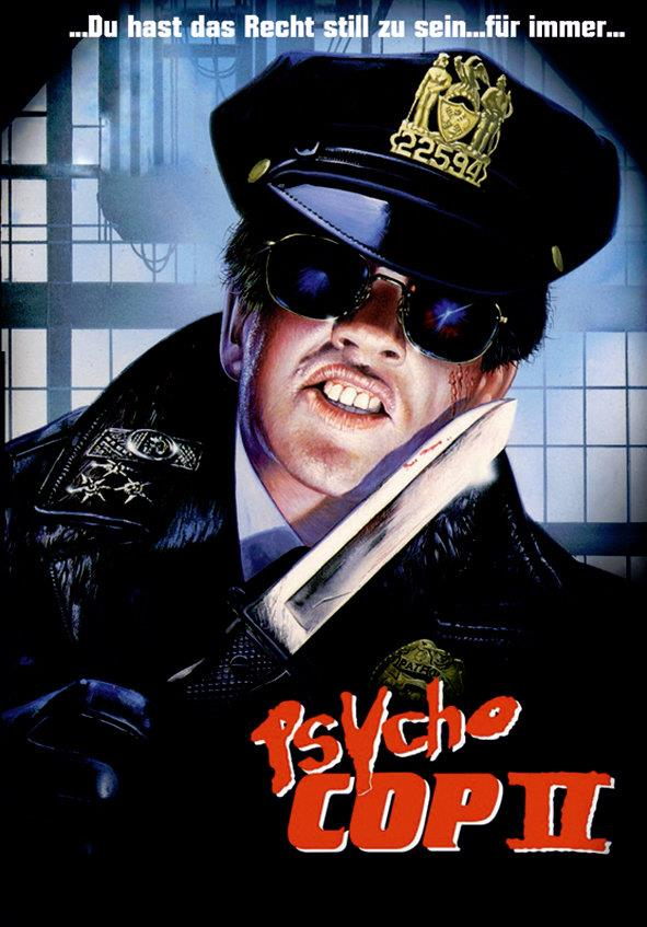 Psycho Cop 2 (1993) (Cover A, Limited Edition, Mediabook, Uncut, Blu-ray + DVD)