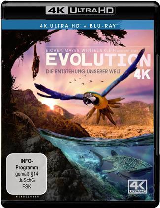 Evolution - Die Entstehung unserer Welt (4K Ultra HD + Blu-ray)