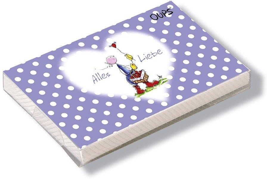 Oups Kärtchenbox - Alles Liebe für Dich