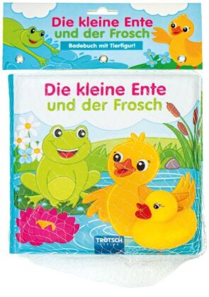 Badebuch Die kleine Ente und der Frosch