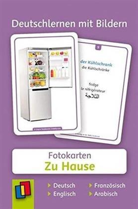 Deutschlernen mit Bildern - Fotokarten 'Zu Hause'