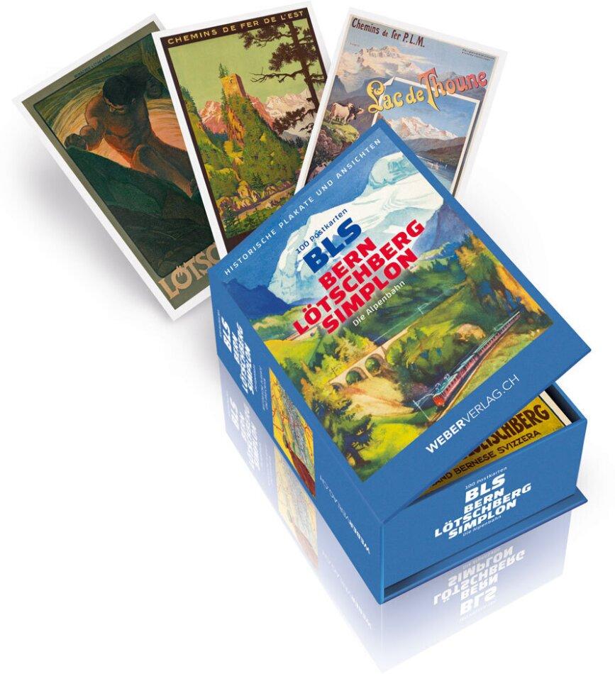 Postkartenbox BLS