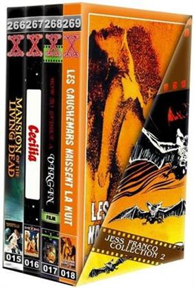 Jess Franco Collection 2 (Grosse Hartbox, Schuber, Limited Edition, Uncut, 4 DVDs)