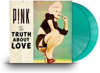 P!nk - Truth About Love (Limited Edition, Green Vinyl, 2 LPs + Digital Copy)
