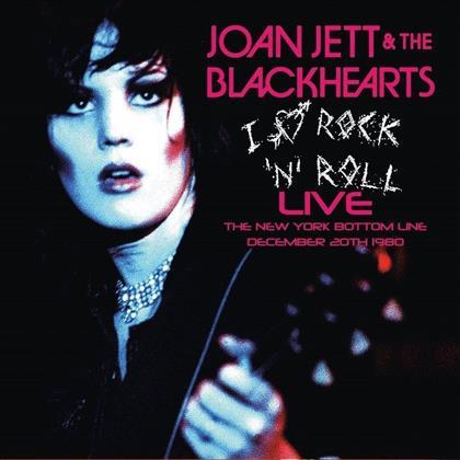 Joan Jett & The Blackhearts - I Love Rock n'Roll Live - The New York Bottom Line December 20th 1980