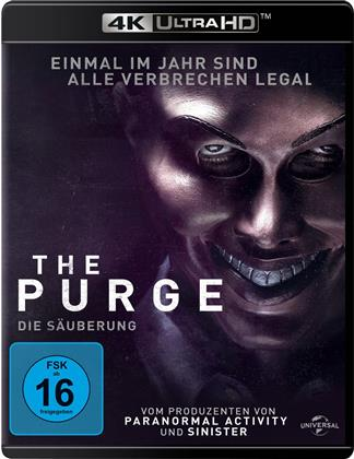 The Purge - Die Säuberung (2013) (4K Ultra HD + Blu-ray)