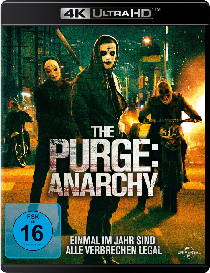 The Purge 2 - Anarchy (2014) (4K Ultra HD + Blu-ray)