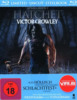 Hatchet - Victor Crowley (2017) (Limited Edition, Steelbook, Uncut)