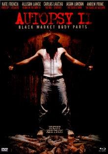 Autopsy 2 - Black Market Body Parts (2009) (Limited Edition, Mediabook, Uncut, Blu-ray + DVD)