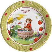 Pappteller Erdbeerinchen