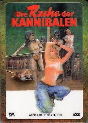 Die Rache der Kannibalen (1981) (Lenticular, Collector's Edition, Steelbox, Uncut, 2 DVDs)
