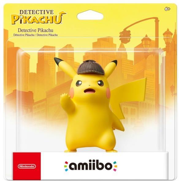 amiibo Meisterdetektiv Pikachu - (15cm)
